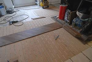 debut de la pose du parquet point de hongrie en chene With pose parquet point de hongrie