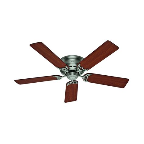 hunter fan company low profile iii antique pewter ceiling
