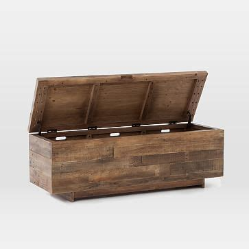 west elm storage bench emmerson 174 reclaimed wood storage bench west elm