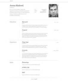 free professional html and css cvresume templates 10 free professional html and css cv resume templates speckyboy design magazine