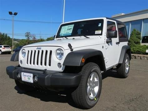 suv jeep white 2014 jeep wrangler sport 4x4 sport 2dr suv suv 2 doors
