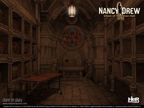 nancy drew games ghost  thornton hall  interactive
