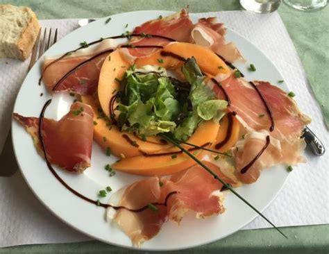 coté cuisine bayonne jambon de bayonne et melon picture of restaurant chez