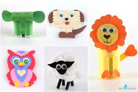 easy   animal crafts  kids