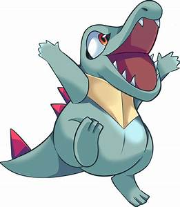 Pokemon 158 Totodile Pokedex Evolution Moves Location