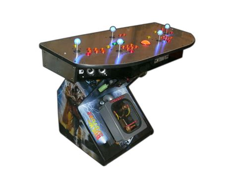 4 Player Arcade Cabinet Plans by Arcade Pedestal Gaming System 4 Player Hdtv Hdmi Mame Tm