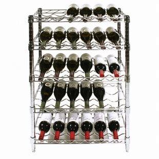 wire wine racks chrome wire wine rack kits