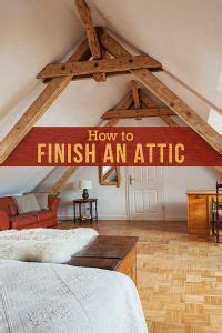 guide  convert  attic  living space