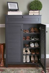 Meuble Chaussure Gris Ikea