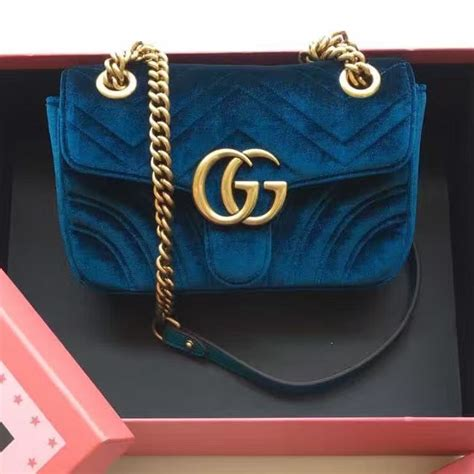 gucci gg marmont velvet mini shoulder bag