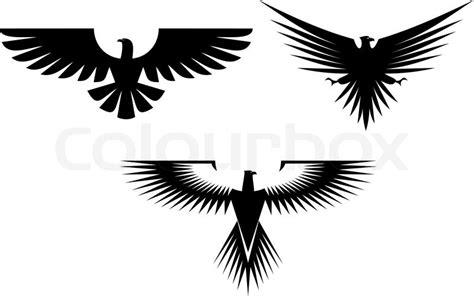 adler symbol auf weiss fuer vektorgrafik colourbox