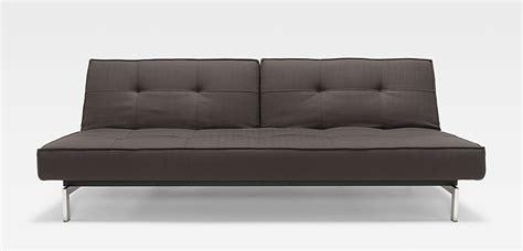Splitback Deluxe Sofa Dark Grey By Innovation