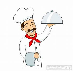 Culinary : smiling-chef-culinary-chef-wearing-hat-carries ...