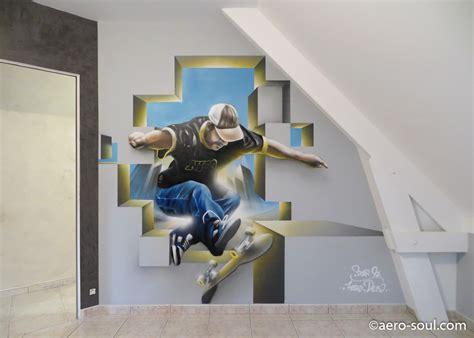 chambre bebe luxe déco chambre garcon skate