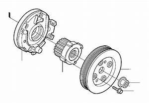 Volvo S80 Engine Crankshaft Pulley  Oscillation Damper