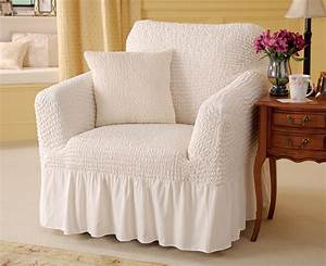 Arm chair covers valanced armchair cover and cushion for Armchair covers to buy
