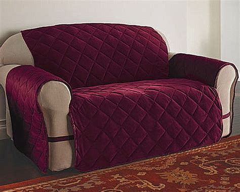 Velvet Loveseat Sofa by Velvet Ultimate Furniture Protector Pet Slip Cover