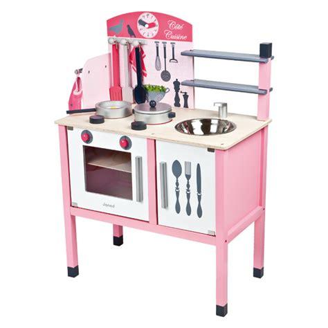 maxi cuisine bois janod king jouet cuisine et dinette