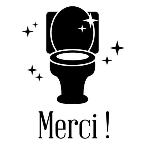 stickers pour vitrine toilettes propres
