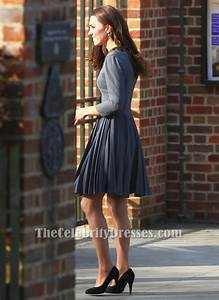 Kate Middleton Inspired Gray Short Party Cocktail Dress ...