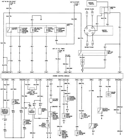 1989 honda prelude wiring diagram