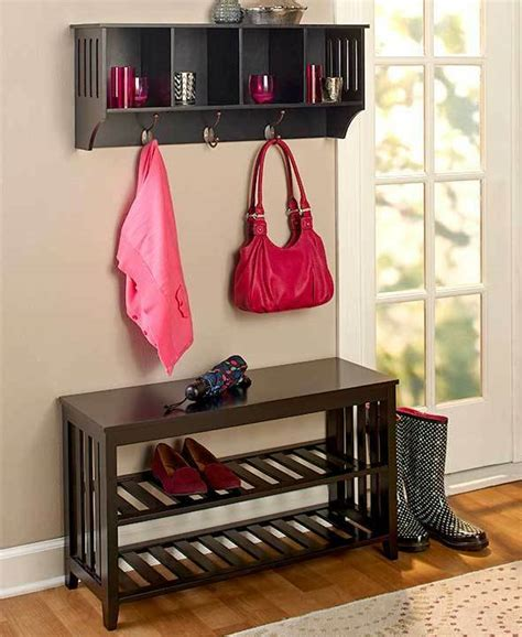 Foyer Shelves entryway bench shelf storage unit foyer mudroom