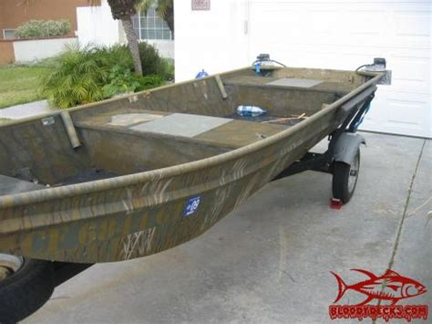 Duck Hunting Flat Bottom Boat by Duck Hunting Boat For Sale Bloodydecks