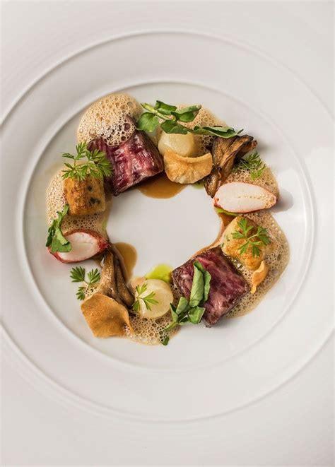 nouveau cuisine a4 wagyu lobster sunchoke bordelaise parisian gnocchi