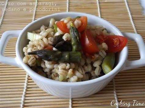 orzo cooking time orzo con asparagi sedano e pomodorini cooking time