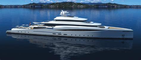 mega yacht purity concept   introduced