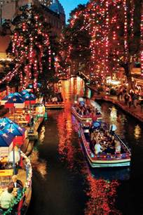 christmas southern san antonio vacations cities travel living near tree river walk polar express town tradition sc favorite portrait main