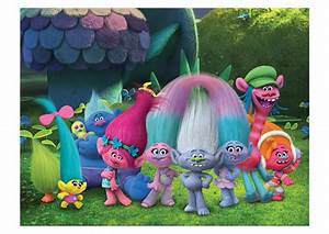 Trolls Movie Snack Pack Mural Wall Decal Shop Fathead