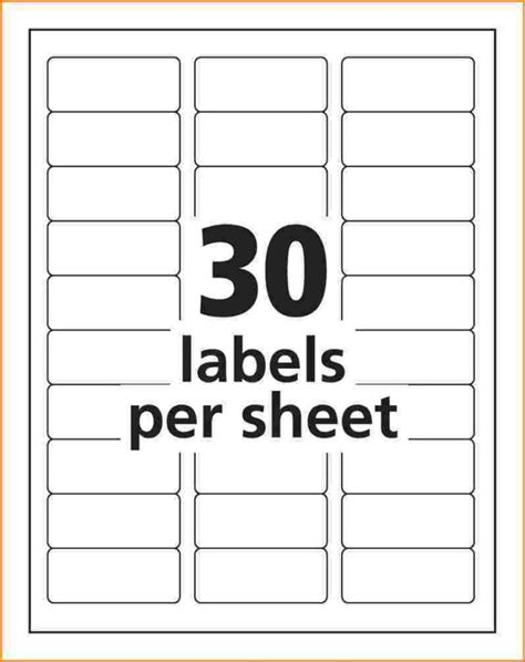 Avery 5351 Label Template by Address Label Template Avery 5161 Templates Resume