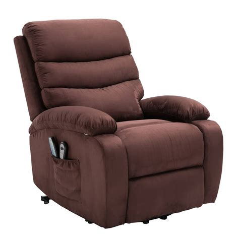 Electric Lift Recliners by Homegear Microfiber Power Lift Electric Recliner Chair W