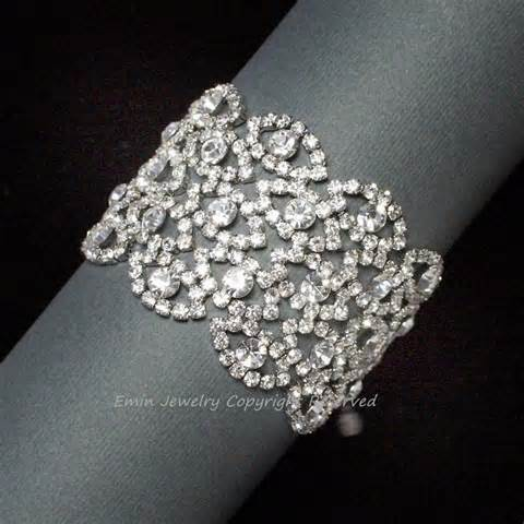 bracelet mariage rhinestone wedding bracelet bridal cuff bracelet vintage style bridal cuff bracelet filigree