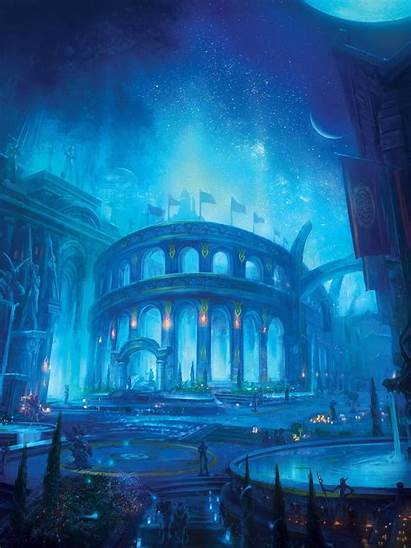 Eldre Thalas Elf Night Wow Well Eternity