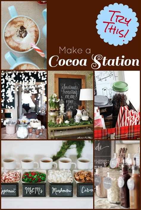 try this 9 ways to create a hot chocolate bar four