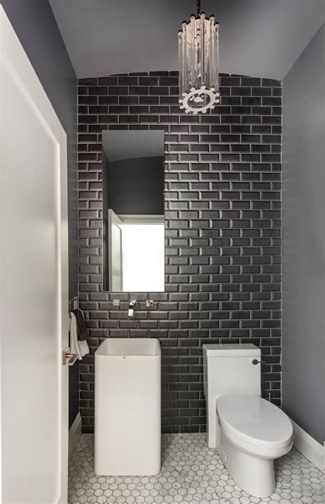 toronto home depot merola tile powder room contemporary
