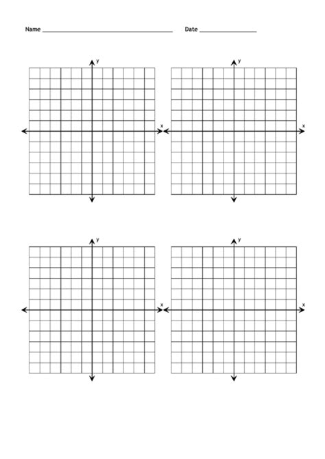 blank coordinate grid templates   page printable