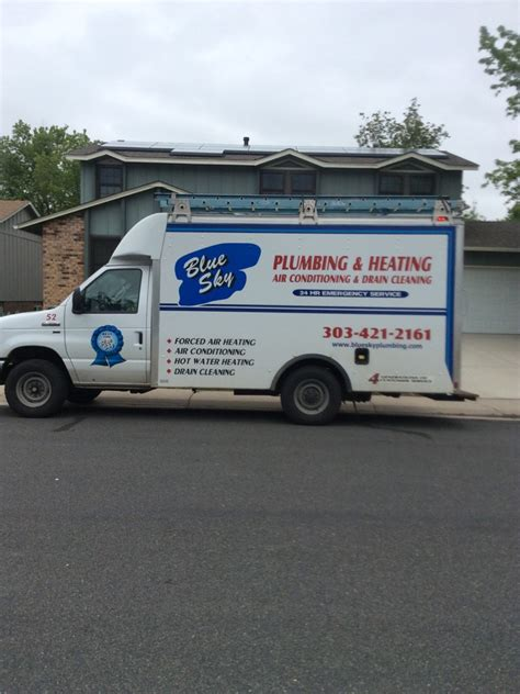 blue sky plumbing central air conditioning denver co arvada co co