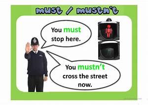 Must, Mustn, U0026, 39, T, Ppt, Worksheet