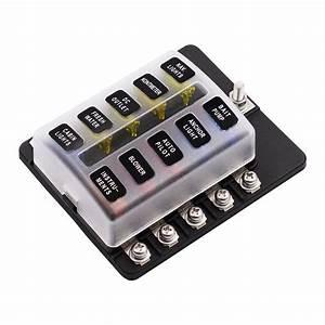 Imars 10 Way And 20 Fuse Box 12v 32v Circuit Standard