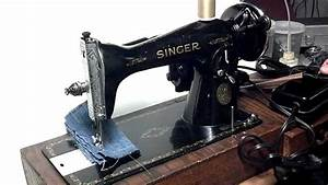Vintage 1946 Heavy Duty Singer 15
