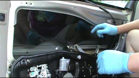 toyota sienna  passenger side rear power sliding door repair youtube
