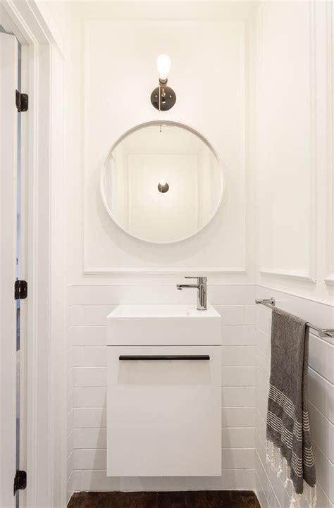 bathroom mirrors ottawa powder room sink toronto espresso cherry wood wall 11155