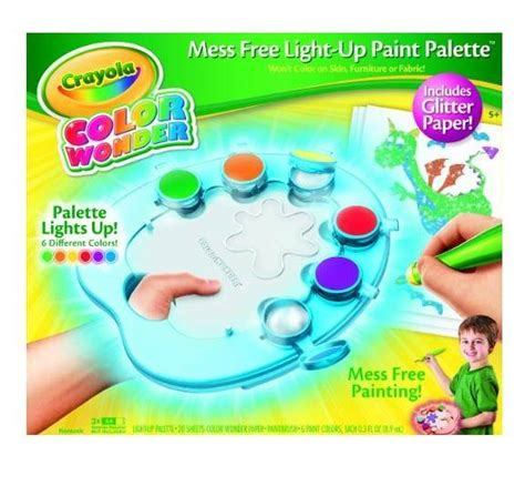 crayola color light up paint palette just 9 97