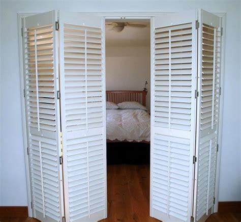 beautiful interior shutter doors  patio door shutters