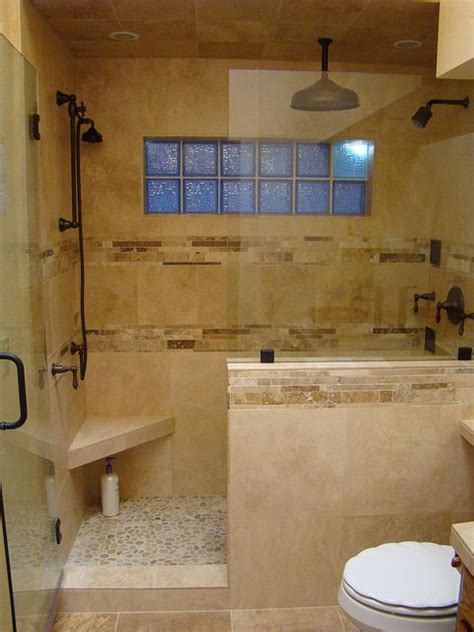 shower half wall bathrooms with half walls digsdigs