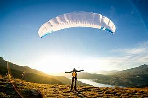 Weight Free Work Out Run Fly Dudek Released First Paraglider Under 1kg Of