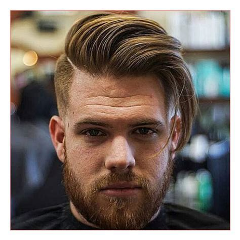 Long Face Men Hairstyles and Long Comb Over Fade Haircut